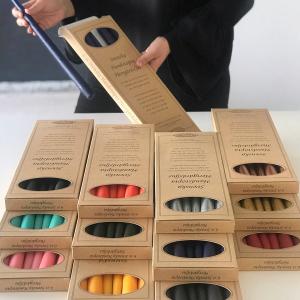 Askar med olika färger - Ljusmannen
